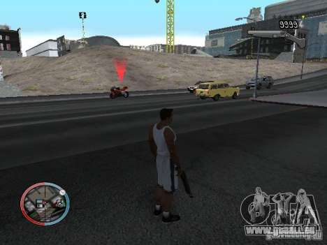 SUPER BIKE MOD pour GTA San Andreas quatrième écran