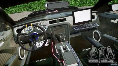 Ford Shelby GT500 für GTA 4 Rückansicht