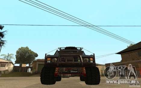 Range Rover Off Road pour GTA San Andreas sur la vue arrière gauche