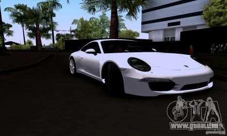 Porsche 911 Carrera S für GTA San Andreas zurück linke Ansicht