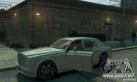 Rolls-Royce Phantom für GTA 4 obere Ansicht