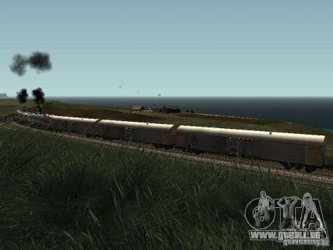 Refrežiratornyj wagon Dessau no 9 pour GTA San Andreas laissé vue