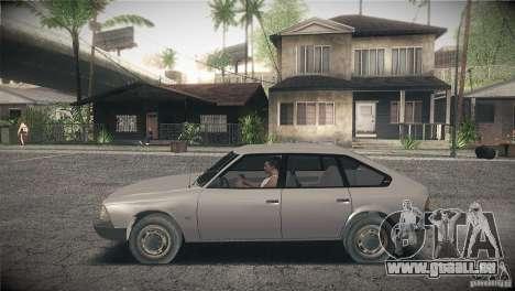 Svyatogor Moskvich 2141 pour GTA San Andreas laissé vue
