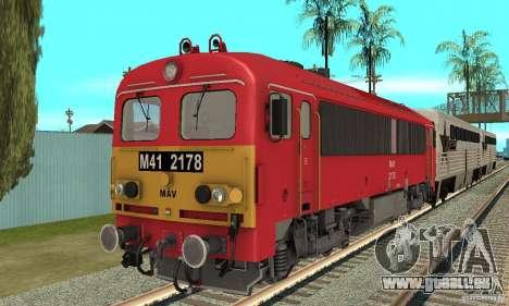 M41 Locomotive Diesel pour GTA San Andreas