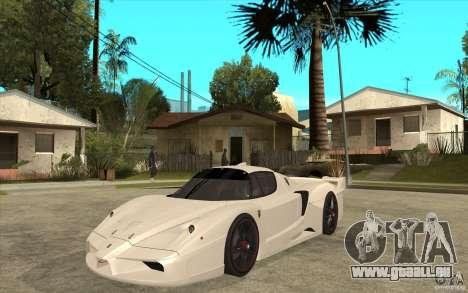 Ferrari FXX 2005 pour GTA San Andreas laissé vue