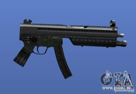 Heckler & Koch MP5 pour GTA 4 quatrième écran