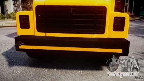 School Bus [Beta] pour GTA 4 vue de dessus