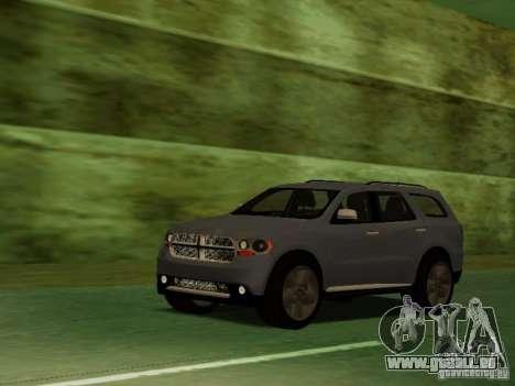 Dodge Durango 2012 pour GTA San Andreas vue de côté