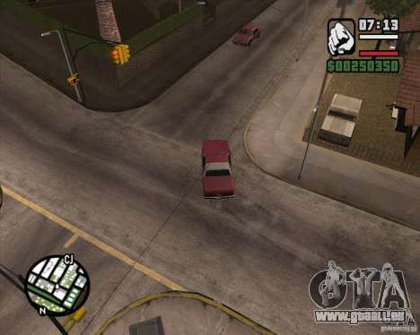 Kamera wie in GTA Chinatown Wars für GTA San Andreas siebten Screenshot