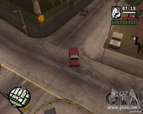 Caméra comme dans GTA Chinatown Wars pour GTA San Andreas septième écran
