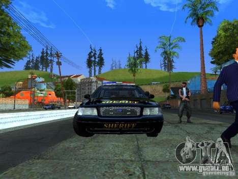 Ford Crown Victoria Erie County Sheriffs Office pour GTA San Andreas