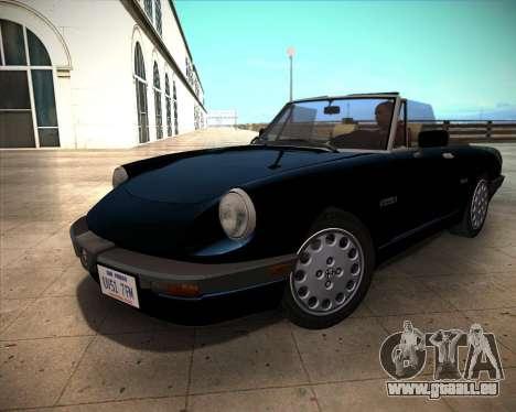 Alfa Romeo Spider 115 1986 pour GTA San Andreas