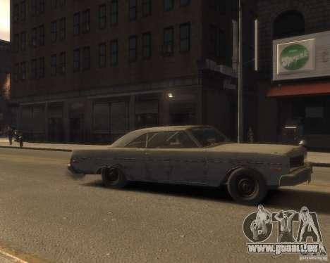 1975 Dodge Dart Rust pour GTA 4 est un droit