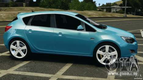 Opel Astra 2010 v2.0 pour GTA 4 est une gauche