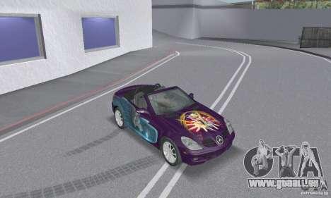 Mercedes-Benz SLK 350 für GTA San Andreas Innen