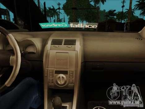 Scion tC 2012 für GTA San Andreas Rückansicht