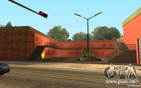 UGP Moscow New Jefferson Motel pour GTA San Andreas deuxième écran