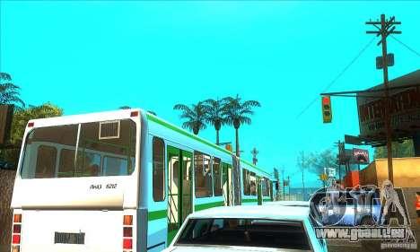 Remorque pour Liaz 6212 pour GTA San Andreas laissé vue