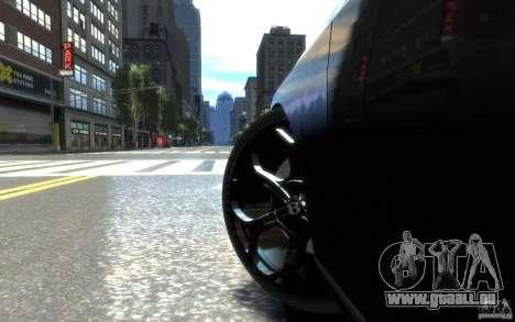 Bentley Continental SS MansorY pour GTA 4 vue de dessus