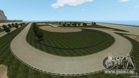 Dakota Raceway [HD] Retexture für GTA 4 achten Screenshot