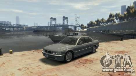BMW 740i E38 für GTA 4