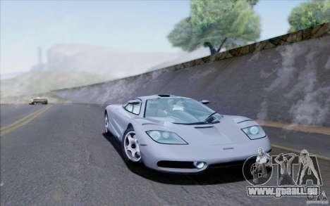 McLaren F1 Clinic 1992 pour GTA San Andreas