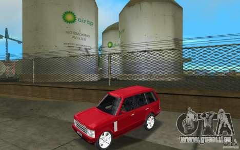 Range Rover Vogue 2003 pour GTA Vice City