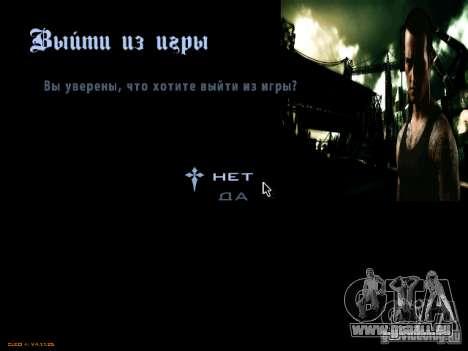 Menüs und laden Bildschirme NFS Most Wanted für GTA San Andreas zweiten Screenshot