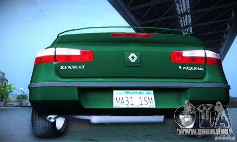 Renault Laguna 2 pour GTA San Andreas vue intérieure