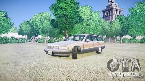 Chevrolet Caprice Civil 1992 v1.0 für GTA 4 rechte Ansicht