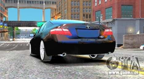 Toyota Camry V6 3.5 2007 pour GTA 4 Vue arrière de la gauche