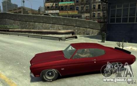 Chevrolet Chevelle SS 454 v2 pour GTA 4 est une gauche