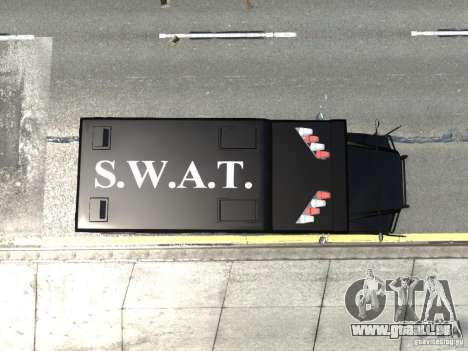 SWAT - NYPD Enforcer V1.1 für GTA 4 Rückansicht