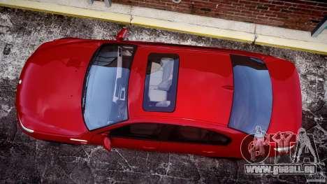 BMW M5 E60 2009 pour GTA 4 est un droit