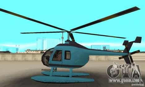 Nouveau Seaspar pour GTA San Andreas laissé vue