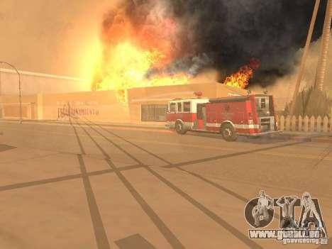 Tremblement de terre pour GTA San Andreas sixième écran