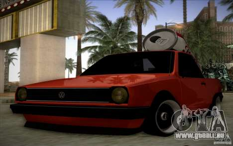 Volkswagen Polo Pickup pour GTA San Andreas