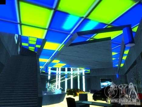 Nouveau showroom à San Fiero pour GTA San Andreas troisième écran