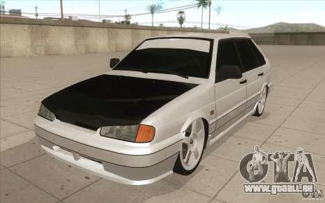 VAZ-2114 für GTA San Andreas Innenansicht