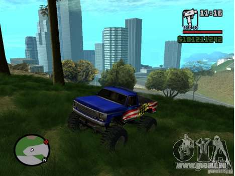 Real Grass v1.0 pour GTA San Andreas