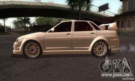 VAZ 2110 WRC für GTA San Andreas linke Ansicht