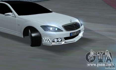 Mercedes-Benz S65 AMG Edition pour GTA San Andreas vue de droite