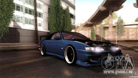 Nissan 200sx pour GTA San Andreas vue intérieure