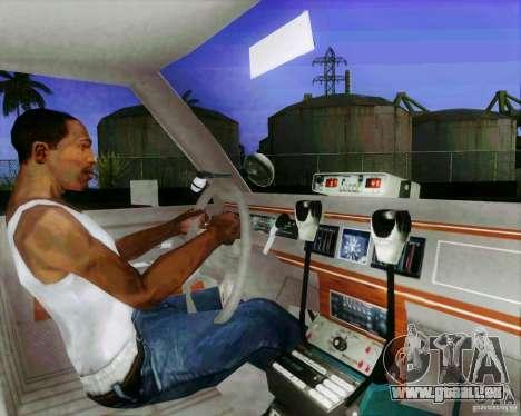 Ford Crown Victoria LTD 1991 SFPD für GTA San Andreas obere Ansicht