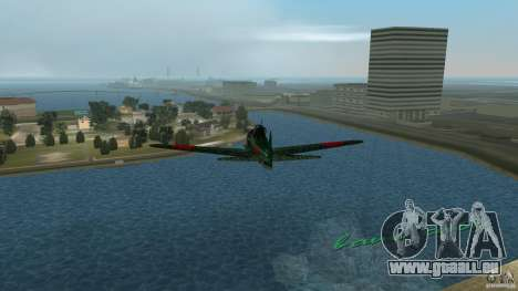 Zero Fighter Plane pour une vue GTA Vice City de l'intérieur
