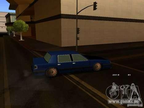 Willard Drift Style pour GTA San Andreas vue de droite