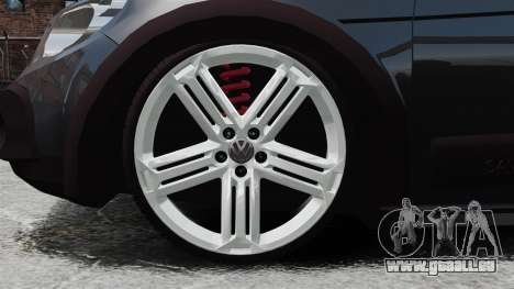Volkswagen Saveiro Cross Edit für GTA 4 Rückansicht