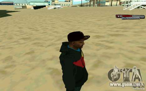Drug Dealer HD Skin für GTA San Andreas dritten Screenshot