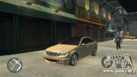 Mercedes-Benz C63 pour GTA 4