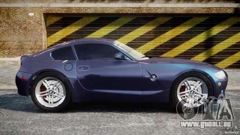 BMW Z4 V3.0 Tunable pour GTA 4 est une vue de l'intérieur